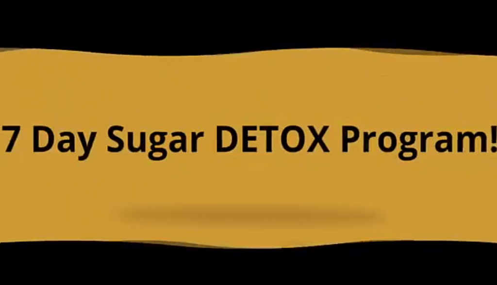 7 day sugar detox program